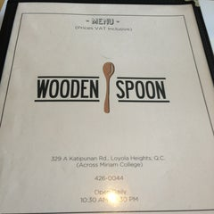 Photo taken at Wooden Spoon by Lorenzo L. on 3/18/2013