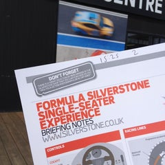 Photo taken at Silverstone Experience Centre by Alan on 6/1/2014