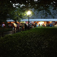Photo taken at Delacorte Theater by Christina I. on 7/29/2013