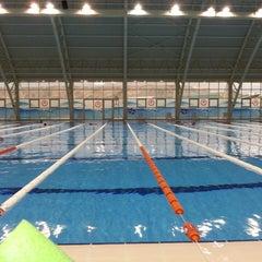 Photo taken at 29 Ekim Olimpik Yüzme Havuzu by Umut Y. on 6/8/2013