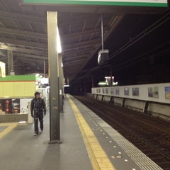 Photo taken at 近鉄 布施駅 (Fuse Sta.) by Tomoyukl T. on 12/8/2012