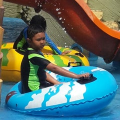 Photo taken at Citra Garden Water Park by Iwan S. on 5/18/2014