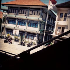 Photo taken at SMKN 4 Denpasar by Dje R. on 7/17/2013