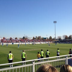 Photo taken at Maryland SoccerPlex by Anne-Marie H. on 11/11/2012