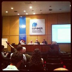 Photo taken at Consejo Profesional de Ciencias Económicas de la Ciudad Autónoma de Buenos Aires by Tomás Francisco L. on 10/23/2012