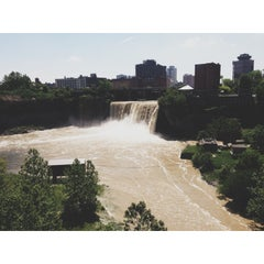 Photo taken at High Falls by Amanda C. on 5/31/2013