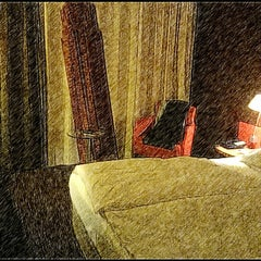 Photo taken at Mercure Hotel & Residenz Frankfurt Messe by Nejat A. on 2/7/2014