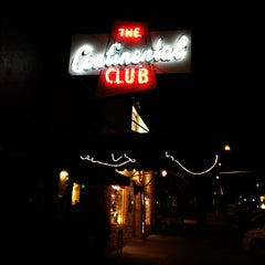 Photo taken at Continental Club by Laura H. on 3/12/2013