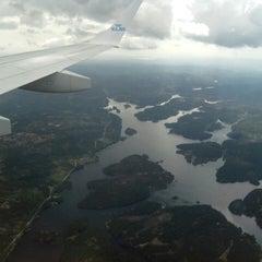 Photo taken at Kristiansand Lufthavn, Kjevik (KRS) by Luis C. on 5/21/2013