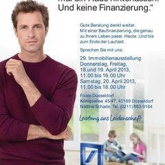 Photo taken at Deutsche Bank by Jörg S. on 4/20/2013