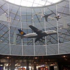 Photo taken at Concourse A by Markus E. on 10/19/2012