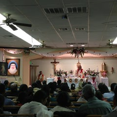 Photo taken at St. Alphonsa Syro-Malabar Catholic Church by Simy R. on 1/19/2013