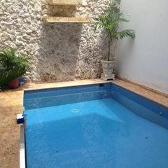Photo taken at Hotel Casa del Curato Cartagena de Indias by Sergi M. on 5/17/2013