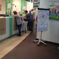 Photo taken at Сбербанк by Anton G. on 7/3/2014
