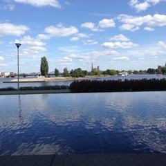 "Photo taken at Swedbank ""Ķīpsala"" | Swedbank centrālā ēka by Kaspars R. on 7/24/2015"