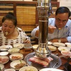 Photo taken at Korean Restaurant by Bangla B. on 2/14/2013