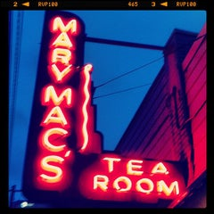 Photo taken at Mary Mac's Tea Room by John M. on 7/6/2013