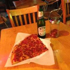 Photo taken at Hard Times Pizza by Jacob F. on 4/25/2013