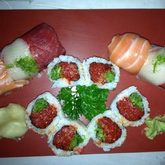 Photo taken at Yuka Japanese Restaurant by Frank F. on 7/7/2013