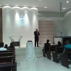 Photo taken at Igreja Adventista da Aldeota by Vinícius A. on 5/3/2014