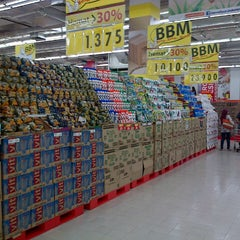 Photo taken at Carrefour by Andre P. on 5/2/2013
