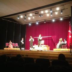 Photo taken at Hacettepe Üniversitesi Kültür Merkezi M Salonu by Izzetcan G. on 5/28/2013