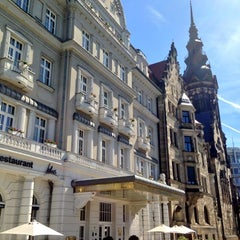 Photo taken at Hotel Fürstenhof by Christian K. on 6/6/2013