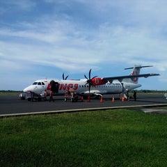 Photo taken at Bandara Tampa Padang (MJU) by Wahyu H. on 12/1/2013