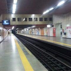 Photo taken at MetrôRio - Estação Carioca by Paulo J. on 1/28/2013