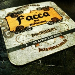 Photo taken at Facca Bar by Rubens G. on 12/15/2012