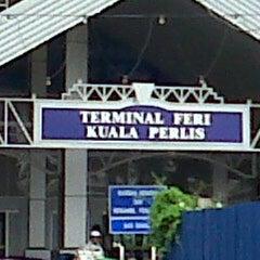 Photo taken at Jeti Kuala Perlis (Jetty) by Nur M. on 9/15/2013