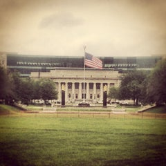 Photo taken at Indianapolis Marion County Public Library - Central Branch (IMCPL Central) by Antoine C. on 5/23/2013