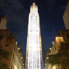 Photo taken at Rockefeller Center by Jesse S. on 6/9/2013