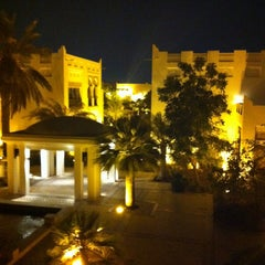 Photo taken at Sharq Village & Spa by Fernanda R. on 6/23/2013