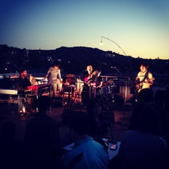 Photo taken at Terrasse - Ubisoft Montreal by eva b. on 9/28/2013
