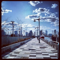 Photo taken at Pier 25 — Hudson River Park by brendan w. on 3/30/2013
