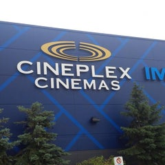 Photo taken at Cineplex Cinemas Courtney Park by Jevon T. on 8/31/2013