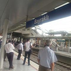 Photo taken at İzban Bayraklı İstasyonu by C&B on 5/29/2013