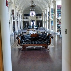 Photo taken at Boston Athenaeum by Tom F. on 3/25/2014