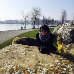 Photo taken at Romanshorn Hafen by Elena S. on 3/21/2016