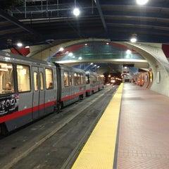 Photo taken at West Portal MUNI Metro Station by Billy L. on 11/28/2012