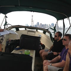Photo taken at Boston Harbor Water Taxi by Michael L. on 8/18/2013