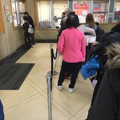 Photo taken at US Post Office: Knickerbocker Station by Jeff S. on 4/21/2015