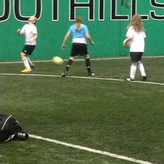Photo taken at Foothills Soccer by David C. on 11/24/2012