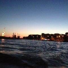 Photo taken at Selimpaşa Liman by Serkan E. on 6/21/2013