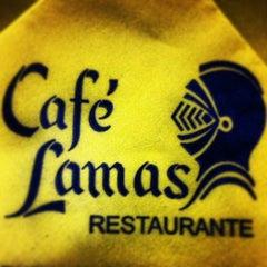 Photo taken at Café Lamas by Diogo L. on 2/24/2013
