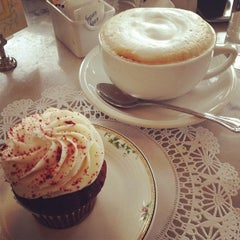 Photo taken at Sweet Lady Jane Bakery by Jennifer P. on 3/17/2013