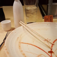 Photo taken at Wokano Japanese Steakhouse by Abby P. on 1/12/2016