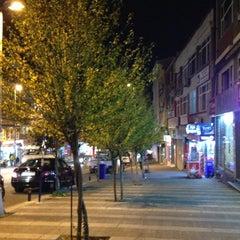 Photo taken at Halk Caddesi by Yalçın D. on 11/4/2013
