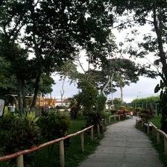 Photo taken at Parque de la Familia by Mario G. on 11/3/2012